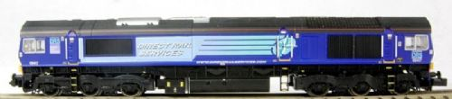 Dapol ND069b* Class 66 Low Emission DRS 66417